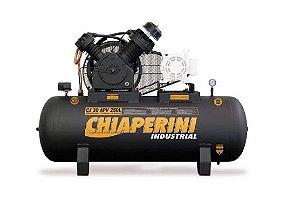Compressor de Ar Alta Pressão Industrial CJ30 APV 30 Pés 250L 175PSI sem Motor - CHIAPERINI