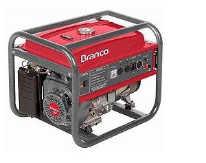 Gerador de Energia a Gasolina 15CV Partida Manual 110/220V - BRANCO