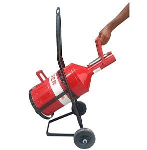 Aferidor de Combustível + Carrinho Articulado - Lubefer