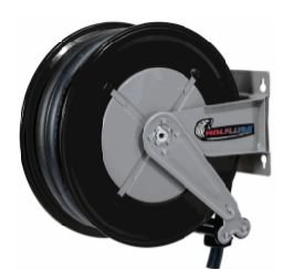 Carretel automatico, base simples - arla 32 montado 10 m mang 3-4 pol