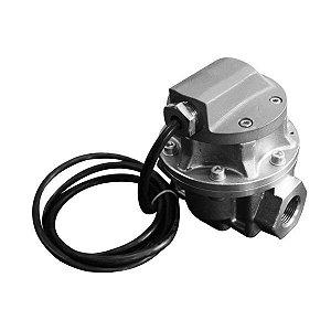 Medidor De Pulso para Arla em Aço Inox - 3-4Pol Npt - 10 A 80 Lpm