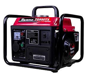 Gerador de Energia à Gasolina 2T 0,85 Kva 220V com Carregador de Bateria - TOYAMA