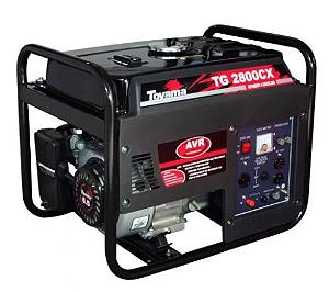 Gerador de Energia à Gasolina 4T Partida Manual 2,5 Kva Bivolt com AVR - TOYAMA
