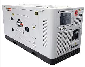 Gerador de Energia a Diesel 220/380V Trifásico 25 KVA - Cabinado Silencioso