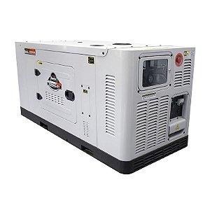 Gerador de Energia a Diesel 110/220V Monofásico 25 KVA - Cabinado Silencioso