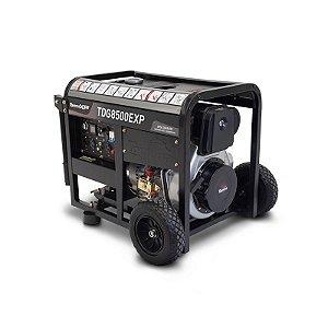 Gerador de Energia à Diesel de 498 cc 7.5 Kva trifásico 220v