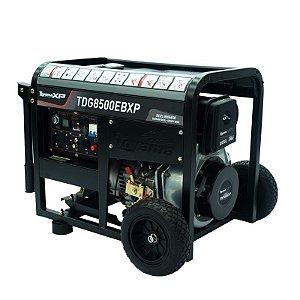 Gerador de Energia à Diesel 7.0 kVA - bivolt 115 330v-Aberto