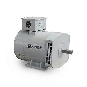 Alternador Monofásico Bivolt 7.5 kW Max115-230V-60Hz Toyama
