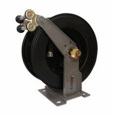 Carretel Automático base simples - Capacidade de até 15 metros 1 pol