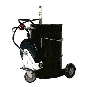 Unidade Movel Pneumática Completa com Medidor Mecânico 35LPM - Com Carrinho LUPUS