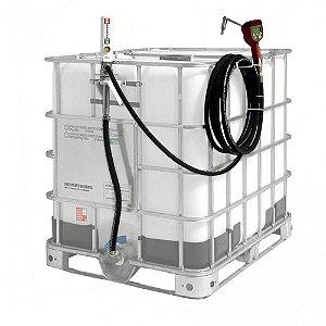 Estação de Abastecimento com Medidor Programável Adaptável a IBC 1000L