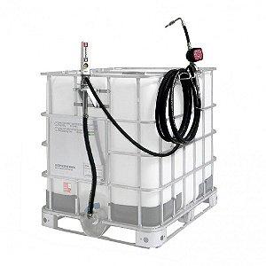 Estação de Abastecimento com Medidor Mecânico Adaptável a IBC 1000L