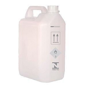 Nova Bombona para Combustível Capacidade de 5 litros - Portaria do Inmetro 141/2019 - Kit 10 Fardos