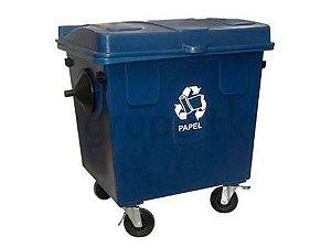 Caçamba Contentora de Lixo 700L
