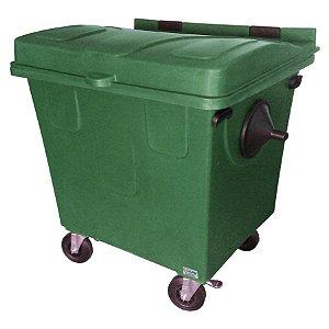 Caçamba Contentora de Lixo 1000L