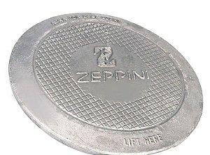 "Tampa de Câmara de Calçada 12"" - Aluminio - Zeppini"