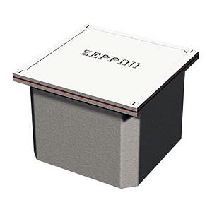 Caixa de Passagem em Alumínio 30x30x30