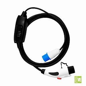 Carregador Portátil para Veículos Elétricos 3,5Kw - Conector GB/T