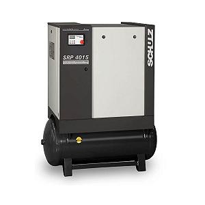 Compressor de Ar de Parafuso com Reservatório 230 Litros 15HP 380V - SRP LEAN 4015 - SCHULZ