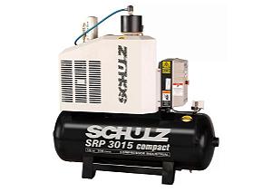 Compressor de Ar Rotativo de Parafuso SRP 3015 Compact III 15HP 11Bar 200L 220V - SCHULZ