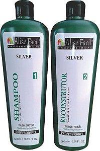 Alise Fácil Silver Escova Inteligente sem formol de carbocisteína