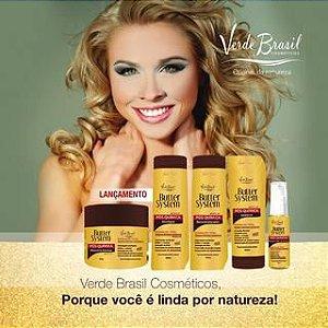 Butter System Verde Brasil Cosméticos Tratamento Pós química Manteigas