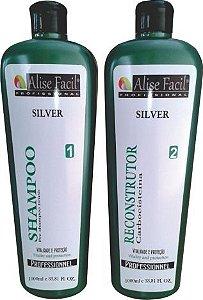 Escova Progressiva Alise Fácil Silver sem formol