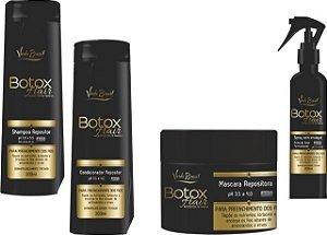 Kit Verde Brasil Cosméticos Botox Hair Repositor de Massa Capilar