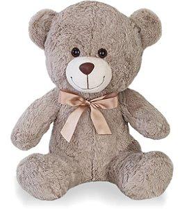 Urso de Pelúcia Nicho 28cm G - CORES DIVERSAS