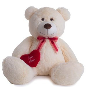 Urso de Pelúcia Cris G 55cm - CORES DIVERSAS