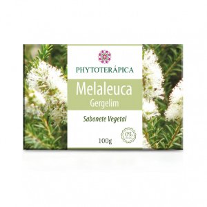 Sabonete Vegetal 100gr - Melaleuca e Gergilim