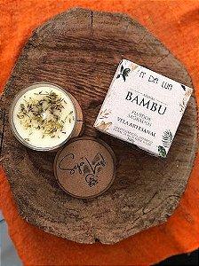 Vela Perfumada artesanal 100g - Bambu