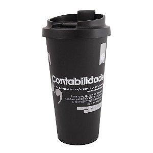Copo térmico Plástico 500ml- Contabilidade