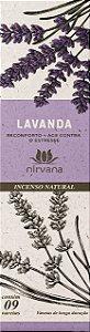 Incenso Natural 9 varetas Nirvana - Lavanda