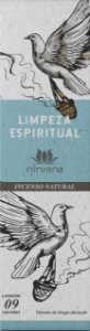 Incenso Natural 9 varetas Nirvana - Limpeza Espiritual