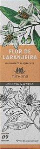 Incenso Natural 9 varetas Nirvana - Flor de Laranjeira