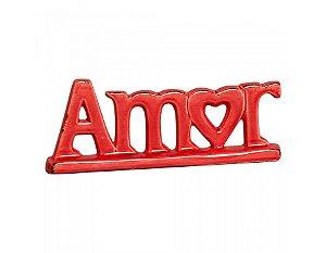 Escultura Amor- Vermelho