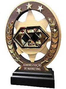 Troféu Madeira MDF Cursos - Administração em Marketing
