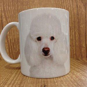 Caneca Pet - Eu amo Meu Poodle Cor: Branca