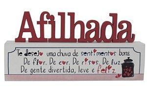 Madeirinha - Afilhada