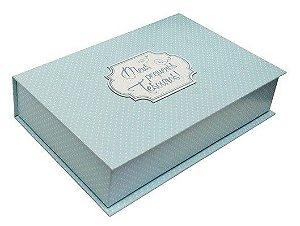 Caixa de Lembranças Meus Pequenos Tesouros - Azul