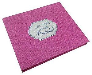 Caixa C/ Album - Você Aceita Ser Minha Madrinha?