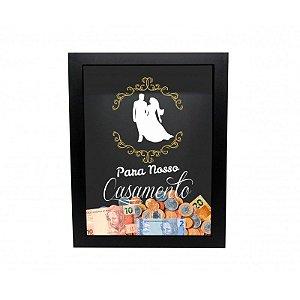 Caixa Cofre Para o nosso Casamento 19X26CM