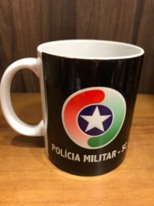 Caneca Cerâmica - POLÍCIA MILITAR PM
