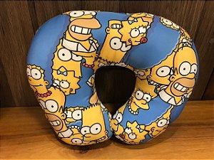 Almofada de Pescoço Simpsons com fibra