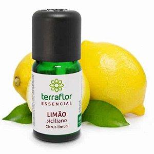 Óleo Essencial Puro 10ml - Limão siciliano