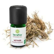 Óleo Essencial Puro Vetiver -5ml