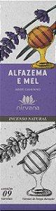 Incenso Natural 9 varetas Nirvana - Alfazema e mel