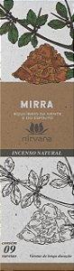 Incenso Natural 9 varetas Nirvana - Mirra