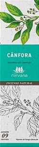 Incenso Natural 9 varetas Nirvana - Cânfora